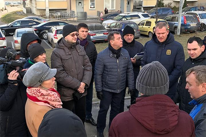 Встреча с жителями ЖК «Завидное». Фото: пресс-служба администрации Ленинского района
