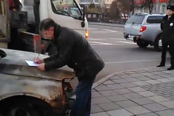 Борца против закрытия школы в Горках Ленинских Михаила Серяпова посадили на 7 суток
