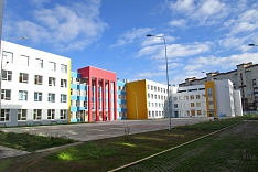 Завершено строительство Видновской школы №12 на 1100 мест