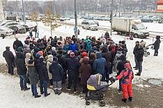 Вместо строительства КНС в ЖК «Завидное» власти планируют сократить санитарную зону ЛОС. Жители возмутились и провели сход