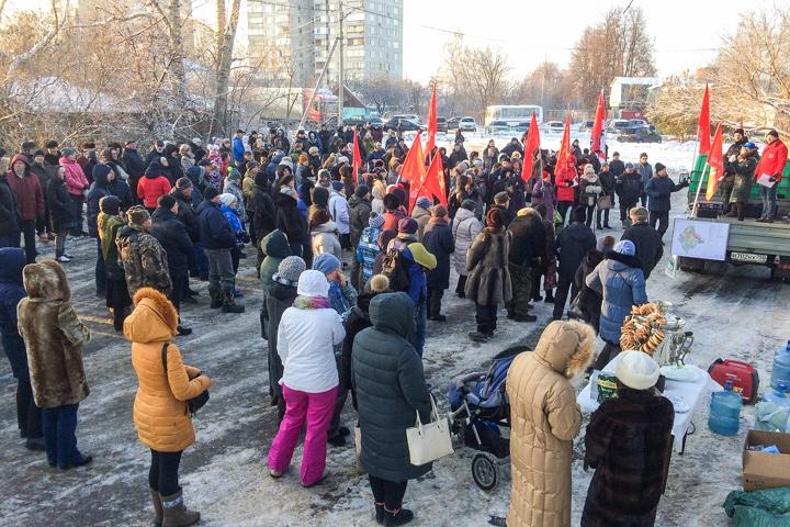 В Молоково состоялся крупный митинг против генплана по застройке на 250 тысяч жителей