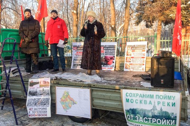 В Молоково состоялся крупный митинг против генплана по застройке на 250 тысяч жителей фото 2