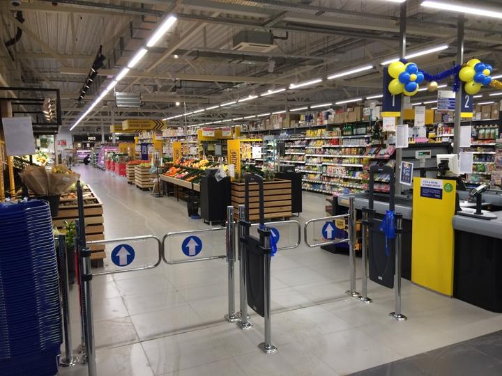 В Видном открылся круглосуточный супермаркет «Лента». Фоторепортаж фото 4