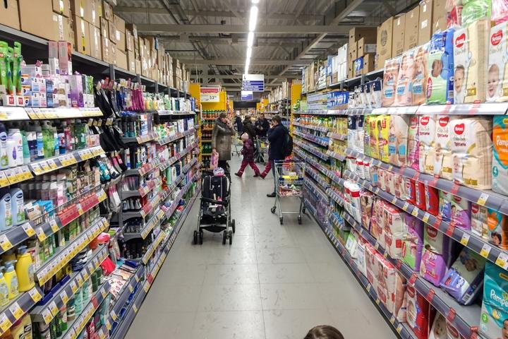 В Видном открылся круглосуточный супермаркет «Лента». Фоторепортаж фото 17