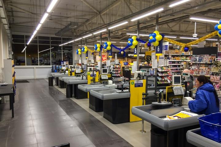В Видном открылся круглосуточный супермаркет «Лента». Фоторепортаж фото 21