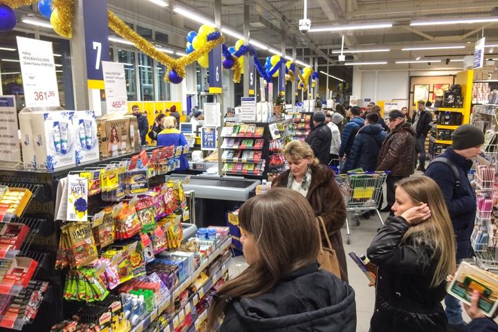 В Видном открылся круглосуточный супермаркет «Лента». Фоторепортаж фото 19