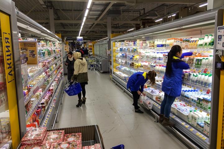 В Видном открылся круглосуточный супермаркет «Лента». Фоторепортаж фото 13