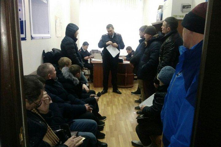 Участковые уполномоченные полиции УМВД России по Ленинскому району отчитались перед гражданами