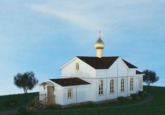В ЖК «Зеленые Аллеи» откроется модульный храм Покрова Пресвятой Богородицы фото 3