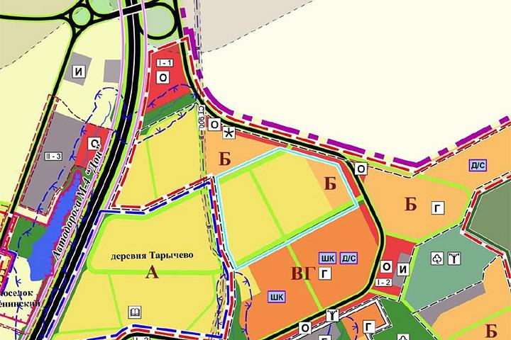 Названы сроки строительства отдельного выезда из ЖК «Зеленые Аллеи» на трассу М4 «Дон»
