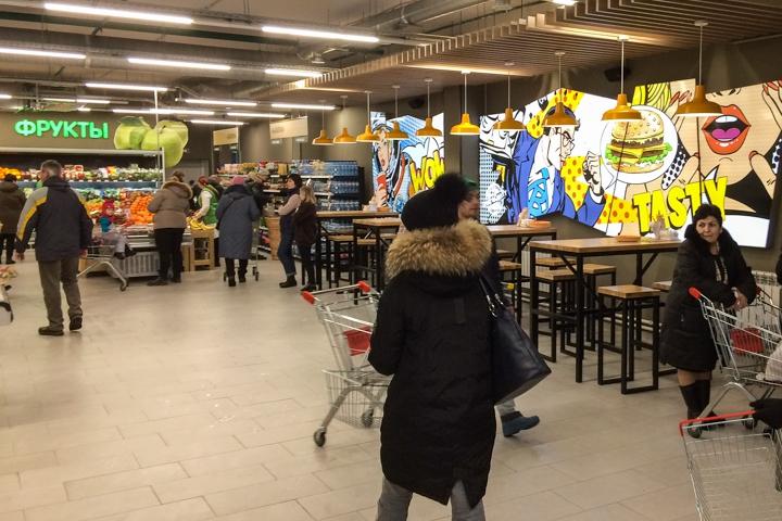 На ПЛК открылся супермаркет EuroSpar. Фоторепортаж фото 4