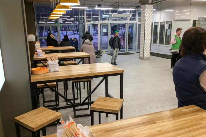 На ПЛК открылся супермаркет EuroSpar. Фоторепортаж фото 5