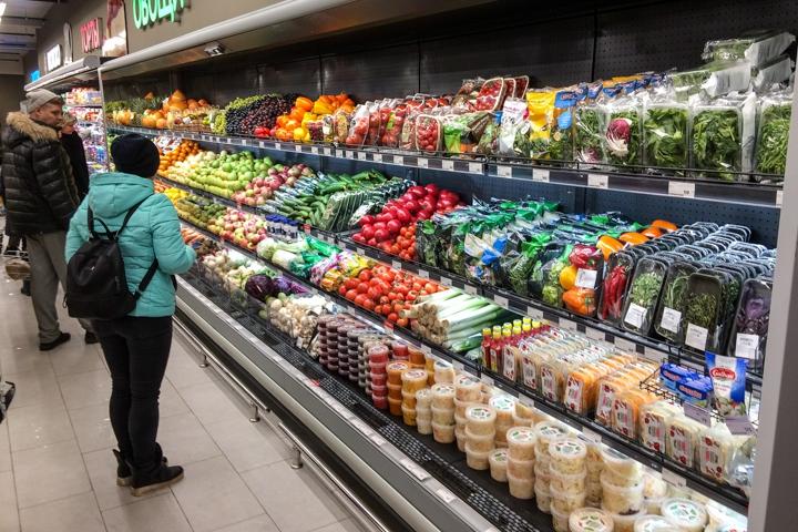 На ПЛК открылся супермаркет EuroSpar. Фоторепортаж фото 10