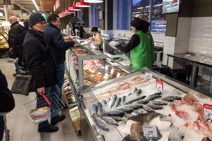 На ПЛК открылся супермаркет EuroSpar. Фоторепортаж фото 13