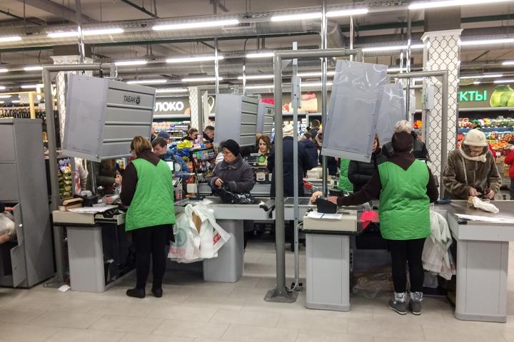 На ПЛК открылся супермаркет EuroSpar. Фоторепортаж фото 26
