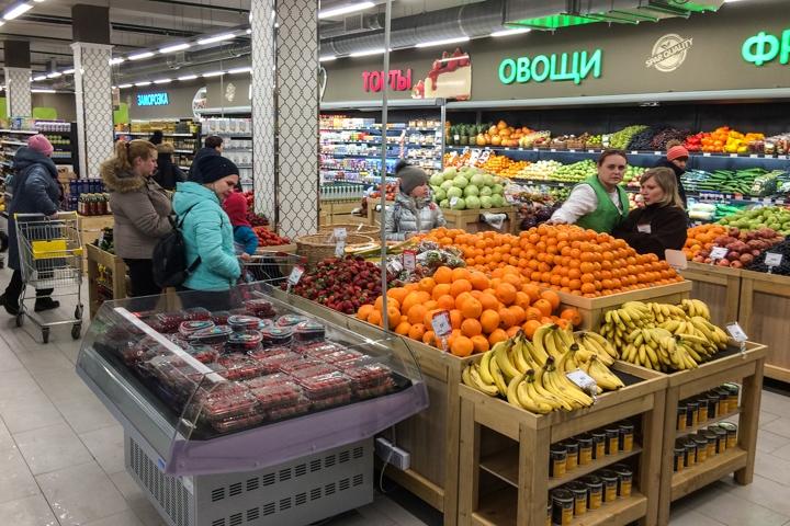 На ПЛК открылся супермаркет EuroSpar. Фоторепортаж фото 6