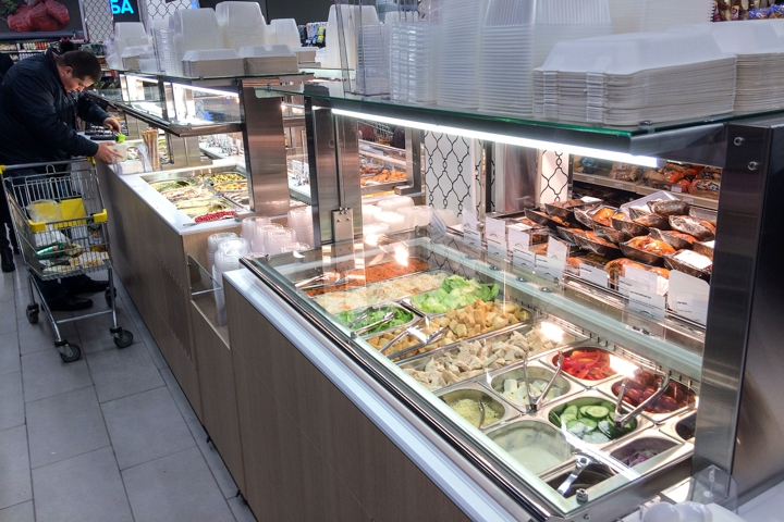 На ПЛК открылся супермаркет EuroSpar. Фоторепортаж фото 19