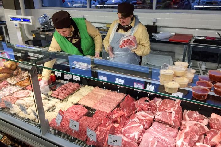 На ПЛК открылся супермаркет EuroSpar. Фоторепортаж фото 14