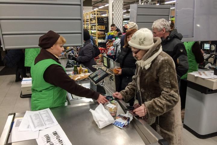 На ПЛК открылся супермаркет EuroSpar. Фоторепортаж фото 25
