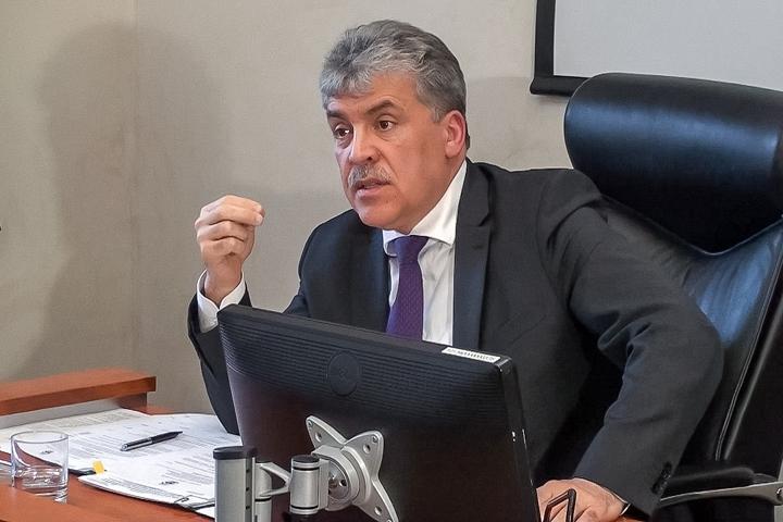 Павел Грудинин может стать депутатом Государственной Думы