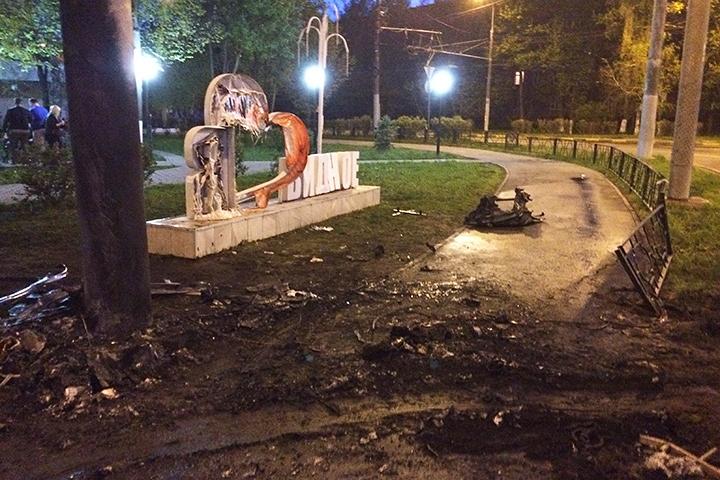 На пересечении ПЛК и Советской улицы произошла страшная авария