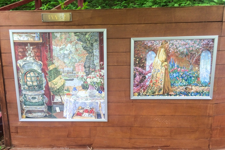 В Тимоховском парке открылась «Галерея под открытым небом» из 54 картин. Фоторепортаж фото 27