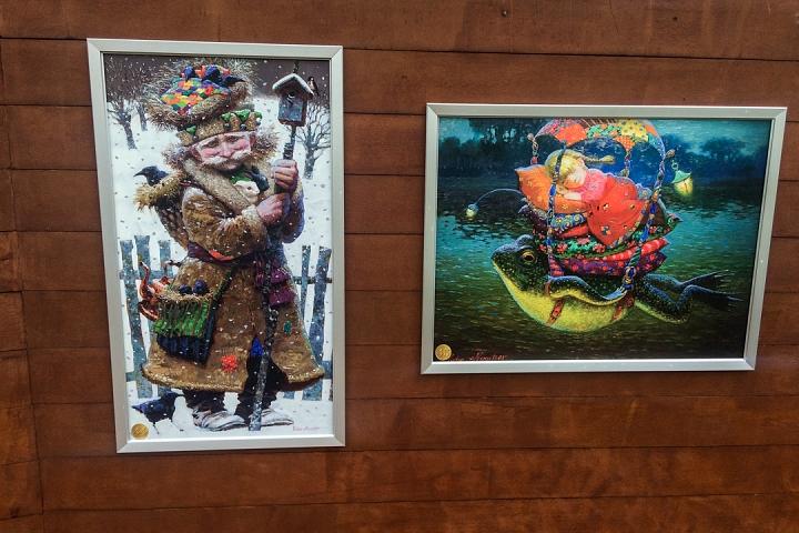 В Тимоховском парке открылась «Галерея под открытым небом» из 54 картин. Фоторепортаж фото 40