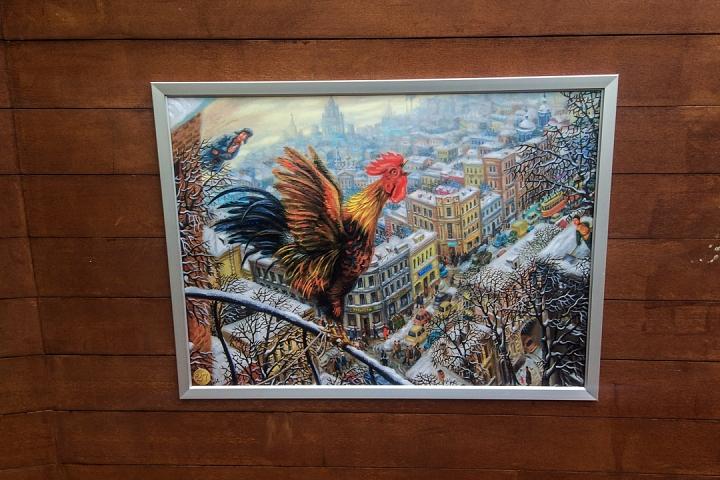В Тимоховском парке открылась «Галерея под открытым небом» из 54 картин. Фоторепортаж фото 29