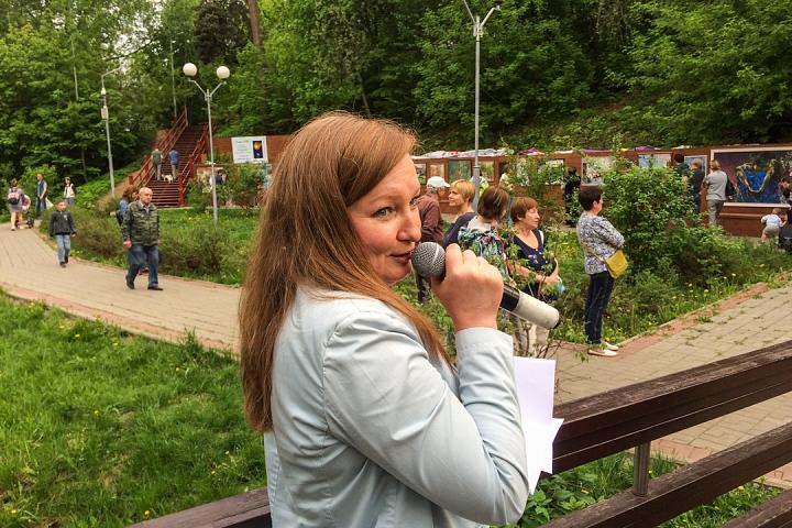 В Тимоховском парке открылась «Галерея под открытым небом» из 54 картин. Фоторепортаж фото 10