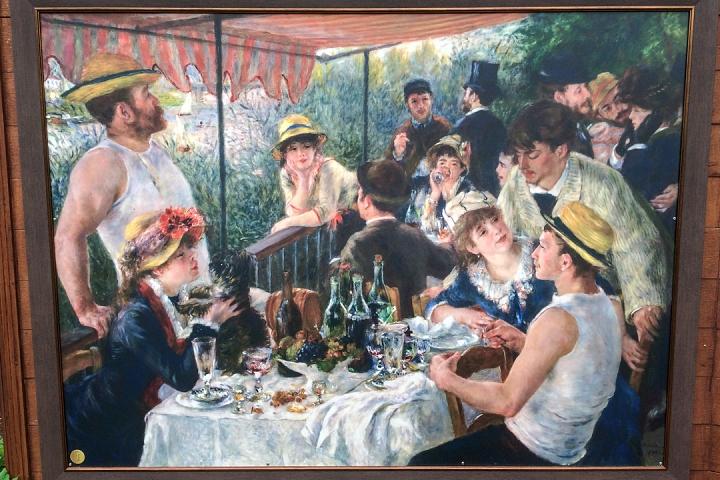В Тимоховском парке открылась «Галерея под открытым небом» из 54 картин. Фоторепортаж фото 15