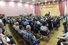 В Ленинском районе проходят публичные слушания по преобразованию района в округ