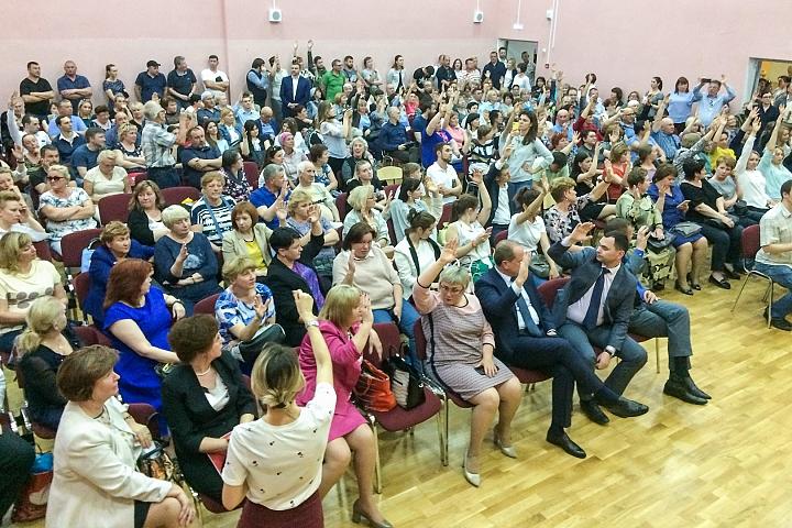 В Ленинском районе проходят публичные слушания по преобразованию района в округ фото 2