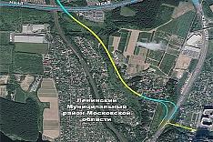 Автодорога Юго-Восточная хорда зайдет в город Видное в районе деревни Тарычево и ЖК «Зеленые Аллеи»