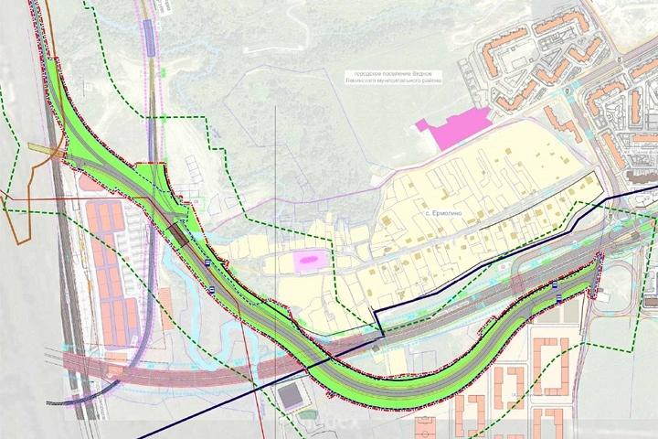 Началось строительство дороги-выезда из новых жилых микрорайонов на трассу М4 «Дон» фото 3