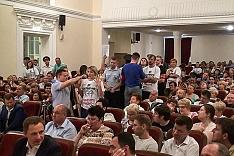 Состоялись районные публичные слушания по вопросу преобразования Ленинского района в городской округ. Видеозапись