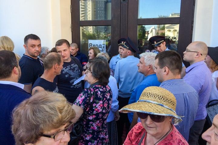 Состоялись районные публичные слушания по вопросу преобразования Ленинского района в городской округ. Видеозапись фото 6