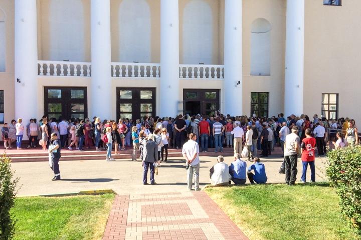 Состоялись районные публичные слушания по вопросу преобразования Ленинского района в городской округ. Видеозапись фото 5