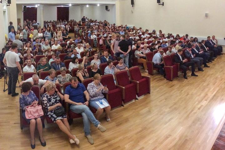 Состоялись районные публичные слушания по вопросу преобразования Ленинского района в городской округ. Видеозапись фото 9