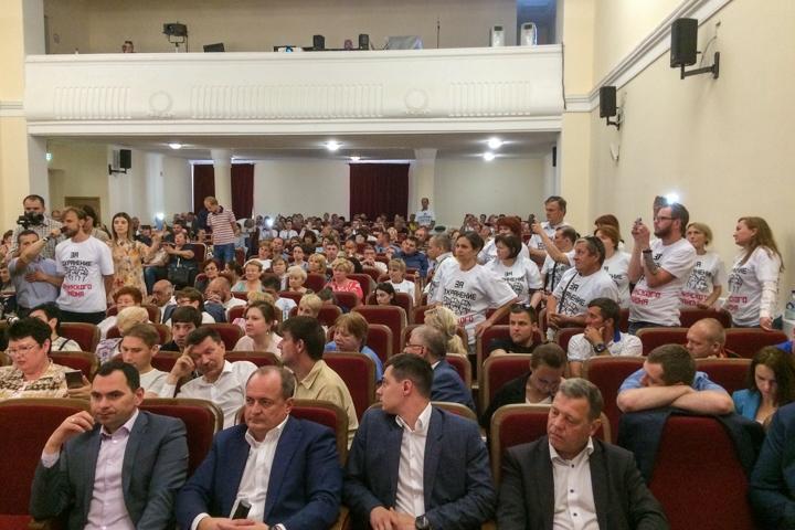 Состоялись районные публичные слушания по вопросу преобразования Ленинского района в городской округ. Видеозапись фото 11