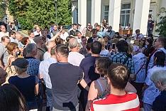 В Видном прошли народные публичные слушания по вопросу преобразования Ленинского района в округ. Видеозапись