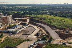 О строительстве дороги-выезда из новых микрорайонов на трассу М-4 «Дон». Июнь 2019. Фоторепортаж