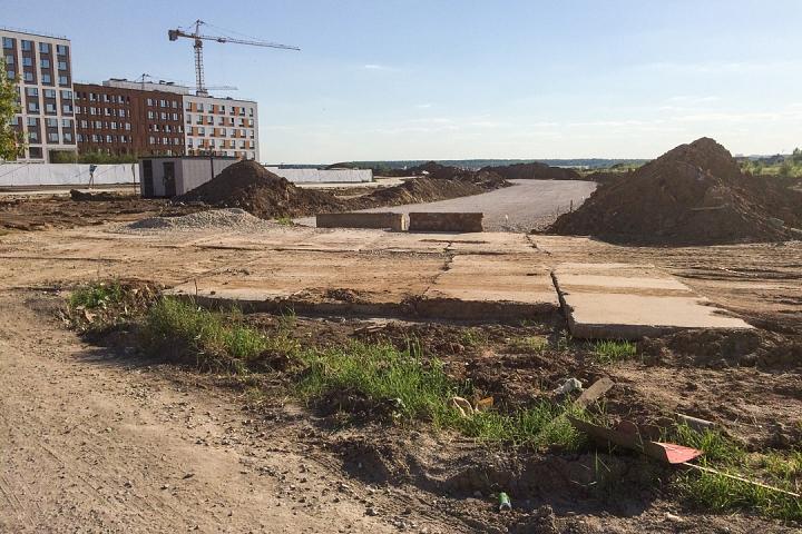 О строительстве дороги-выезда из новых микрорайонов на трассу М-4 «Дон». Июнь 2019. Фоторепортаж фото 4