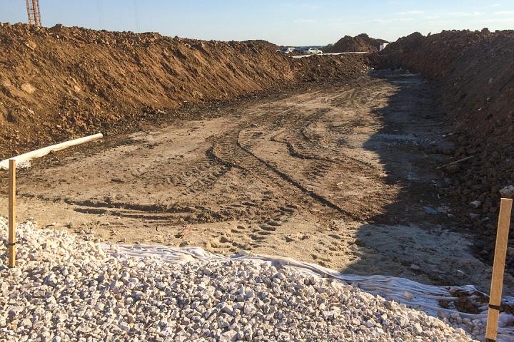 О строительстве дороги-выезда из новых микрорайонов на трассу М-4 «Дон». Июнь 2019. Фоторепортаж фото 6