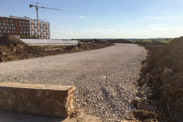 О строительстве дороги-выезда из новых микрорайонов на трассу М-4 «Дон». Июнь 2019. Фоторепортаж фото 5
