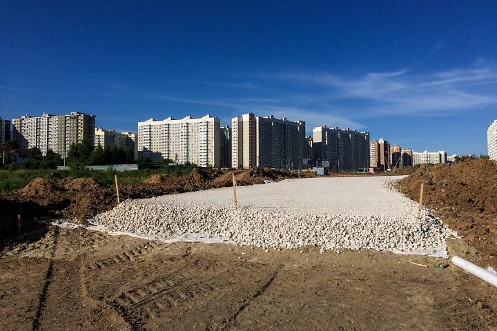 О строительстве дороги-выезда из новых микрорайонов на трассу М-4 «Дон». Июнь 2019. Фоторепортаж фото 7