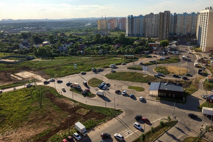 О строительстве дороги-выезда из новых микрорайонов на трассу М-4 «Дон». Июнь 2019. Фоторепортаж фото 11