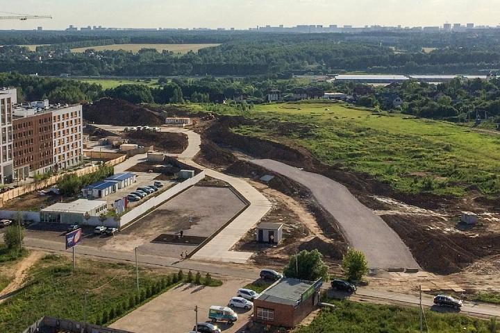 О строительстве дороги-выезда из новых микрорайонов на трассу М-4 «Дон». Июнь 2019. Фоторепортаж фото 10