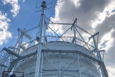 Коксогазовый завод «Москокс» запустил новый газгольдер, который позволит исключить аварийные выбросы газа