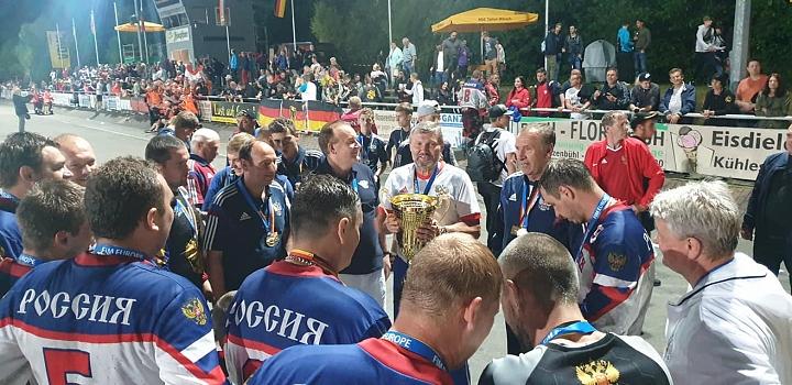 Сборная России по мотоболу 4-й год подряд стала чемпионом Европы. Фото фото 7