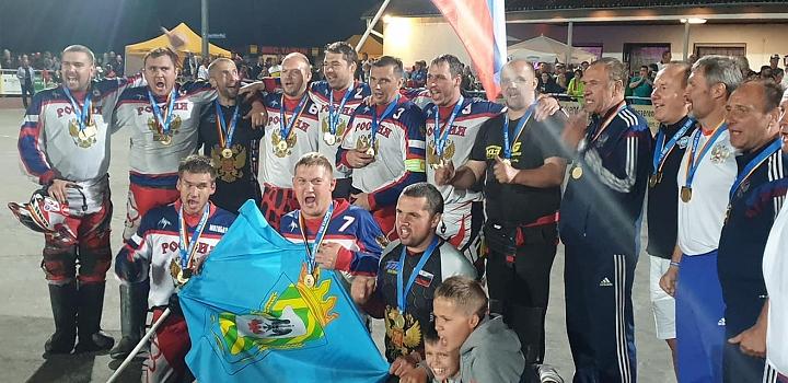Сборная России по мотоболу 4-й год подряд стала чемпионом Европы. Фото фото 5